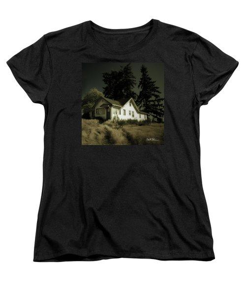 The House Women's T-Shirt (Standard Cut) by Charlie Duncan