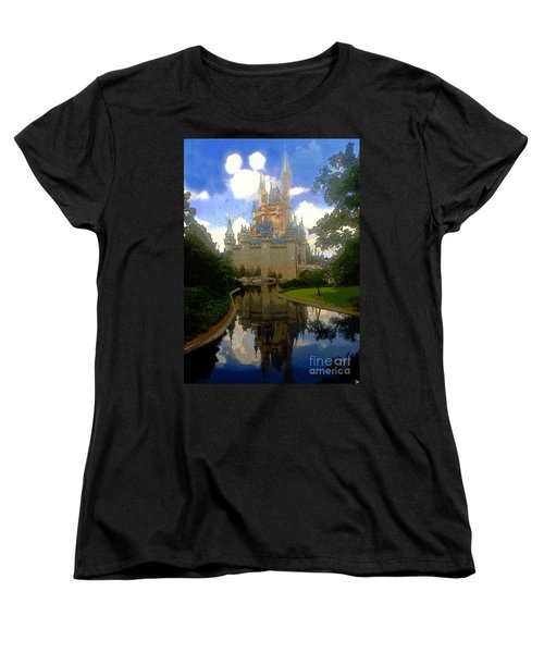 The House Of Cinderella Women's T-Shirt (Standard Cut) by David Lee Thompson