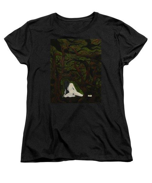 The Hunter Is Gone Women's T-Shirt (Standard Cut) by FT McKinstry