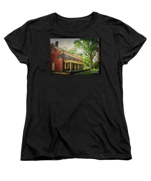 The John Stover House Women's T-Shirt (Standard Cut) by Debra Fedchin