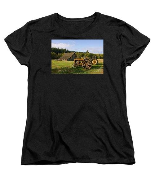 The Johnson Farm Women's T-Shirt (Standard Cut) by Sean Griffin