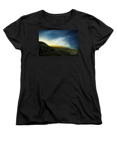 The Journey Women's T-Shirt (Standard Cut) by Ellen Cotton