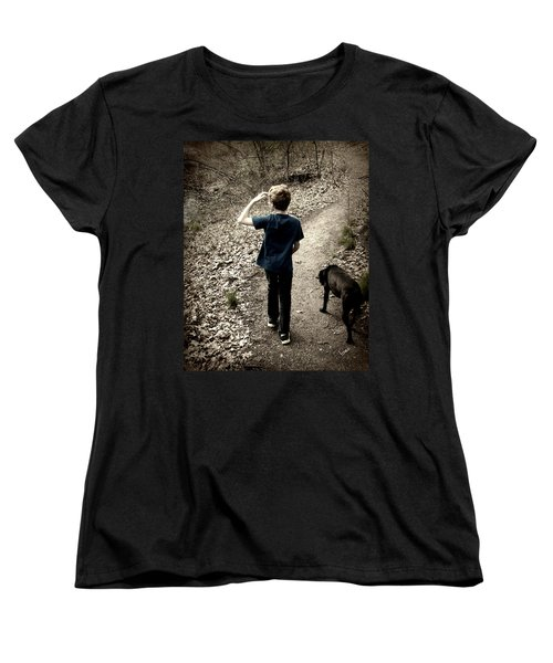 The Journey Together Women's T-Shirt (Standard Cut) by Bruce Carpenter