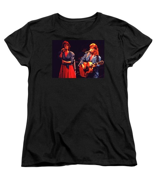Women's T-Shirt (Standard Cut) featuring the photograph The Judds by Mike Martin