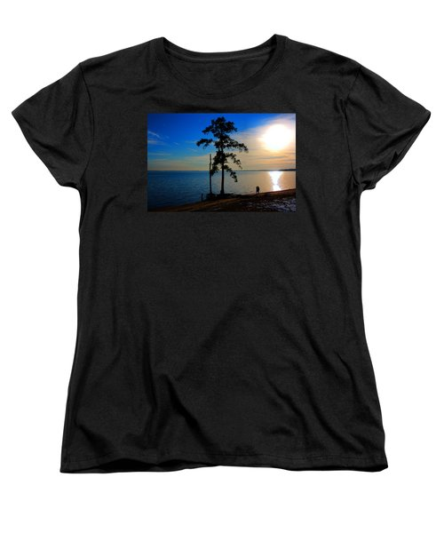 The Kiss Women's T-Shirt (Standard Cut) by Dan Stone