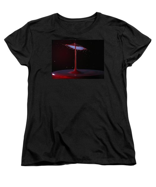 Women's T-Shirt (Standard Cut) featuring the photograph The Lamp by Kevin Desrosiers