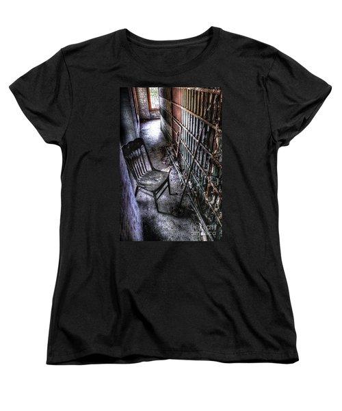 The Last Visitor Women's T-Shirt (Standard Cut) by Dan Stone
