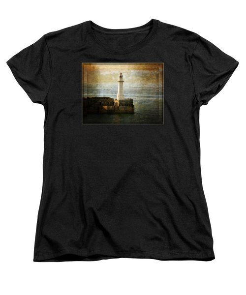 The Lighthouse Women's T-Shirt (Standard Cut) by Lucinda Walter