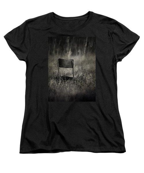 The Listening Wind  Women's T-Shirt (Standard Cut) by Jerry Cordeiro
