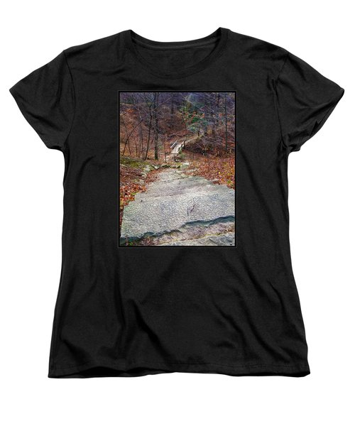 The Long Lonely Trail... Women's T-Shirt (Standard Cut) by Tim Fillingim