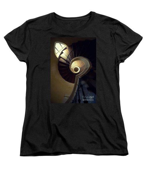 The Lost Tower Women's T-Shirt (Standard Cut) by Jaroslaw Blaminsky
