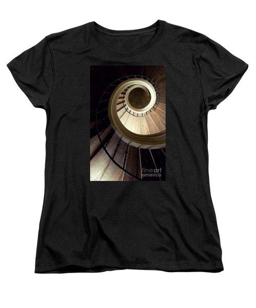 The Lost Wooden Tower Women's T-Shirt (Standard Cut) by Jaroslaw Blaminsky