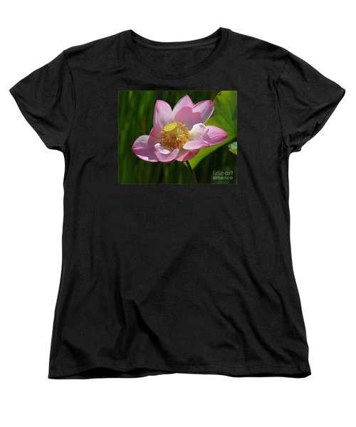 Women's T-Shirt (Standard Cut) featuring the photograph The Lotus by Vivian Christopher