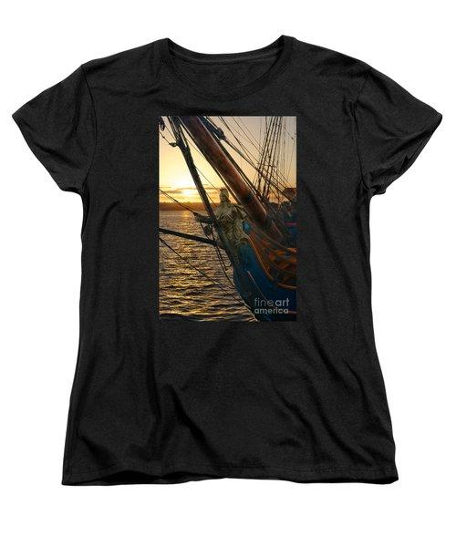 The Majesty Of The Ocean Women's T-Shirt (Standard Cut) by Claudia Ellis