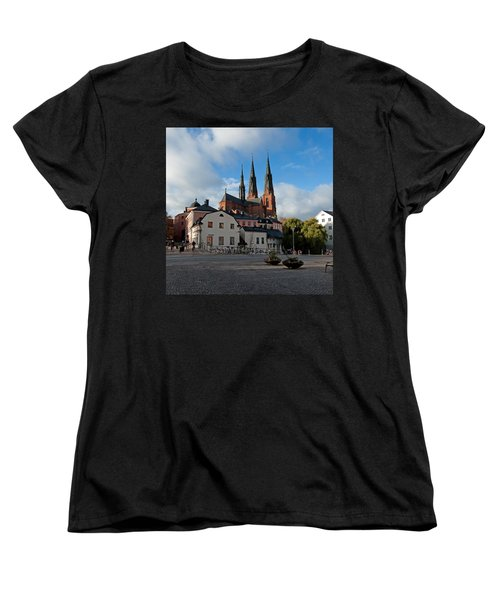 The Medieval Uppsala Women's T-Shirt (Standard Cut) by Torbjorn Swenelius