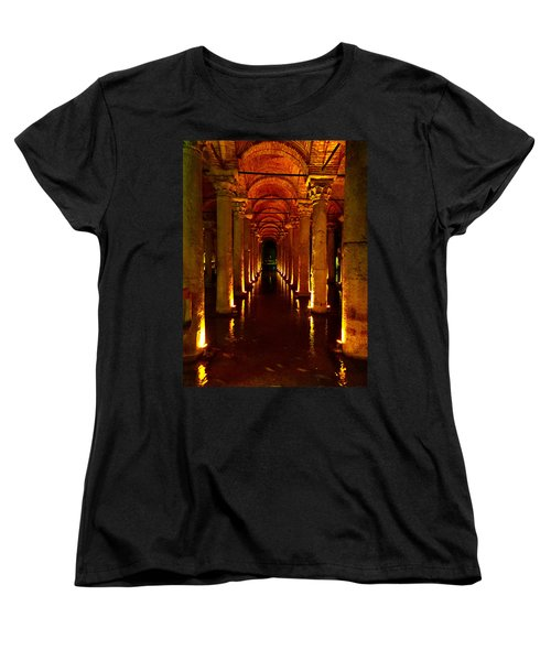 The Most Romantic Place Of Istanbul Women's T-Shirt (Standard Cut) by Zafer Gurel