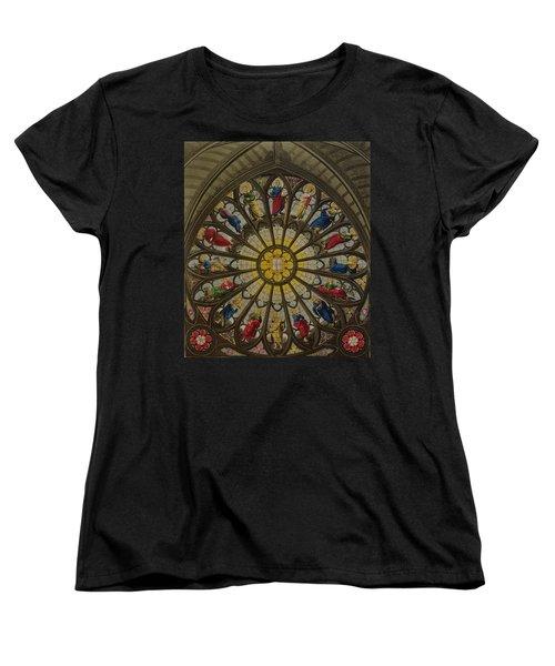 The North Window Women's T-Shirt (Standard Cut) by William Johnstone White