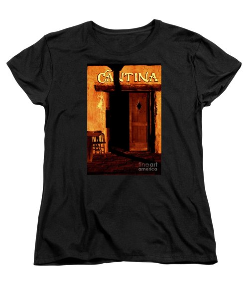 The Old Cantina Women's T-Shirt (Standard Cut) by Paul W Faust -  Impressions of Light