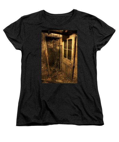 The Old Cellar Door Women's T-Shirt (Standard Cut) by Dan Stone