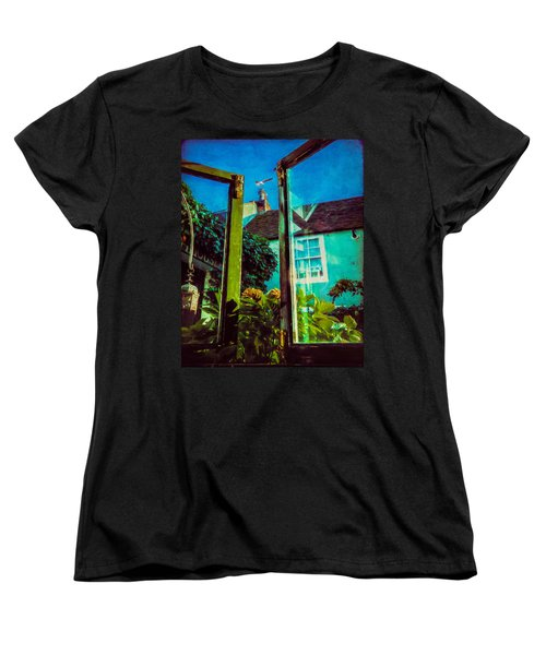 Women's T-Shirt (Standard Cut) featuring the photograph The Open Window by Chris Lord