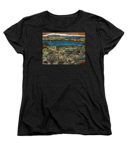 The Oregon Paiute Women's T-Shirt (Standard Cut)