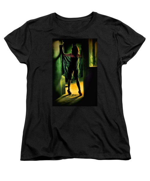 The Other Side Women's T-Shirt (Standard Cut) by Diane Dugas