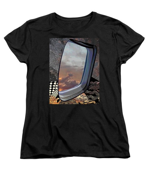 Women's T-Shirt (Standard Cut) featuring the digital art The Other Side Of Natural by Glenn McCarthy Art and Photography