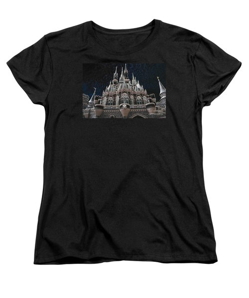 Women's T-Shirt (Standard Cut) featuring the photograph The Palace by Robert Meanor