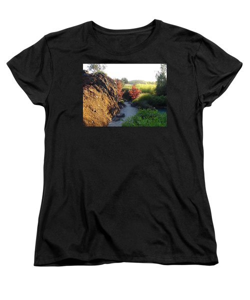 The Path Women's T-Shirt (Standard Cut) by Shawn Marlow
