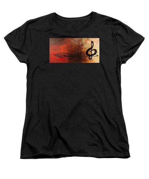 The Pause Women's T-Shirt (Standard Cut) by Carmen Guedez