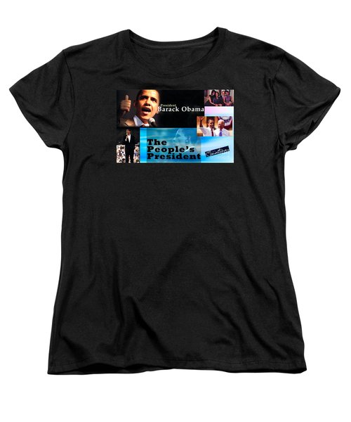 The People's President Still Women's T-Shirt (Standard Cut) by Terry Wallace