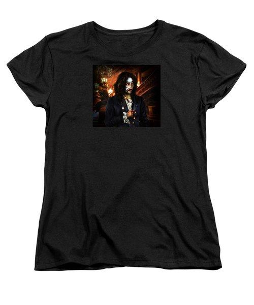 The Phantom Of The Opera Women's T-Shirt (Standard Cut) by Alessandro Della Pietra