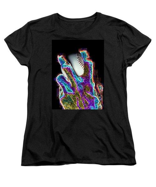 The Pitch Women's T-Shirt (Standard Cut) by Tim Allen