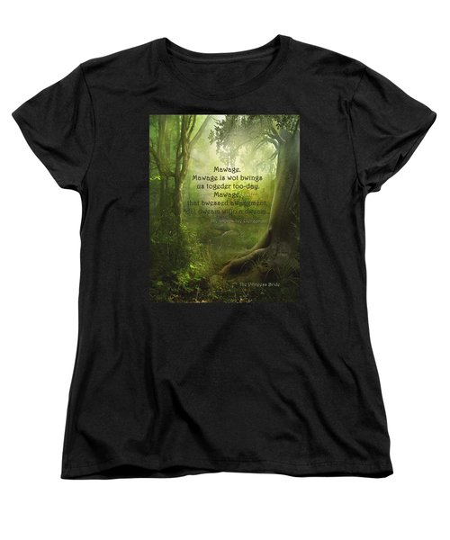 The Princess Bride - Mawage Women's T-Shirt (Standard Cut) by Paulette B Wright