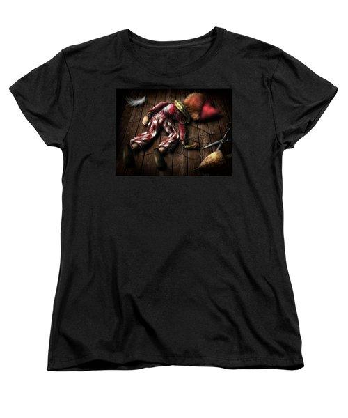 The Puppet... Women's T-Shirt (Standard Cut) by Alessandro Della Pietra
