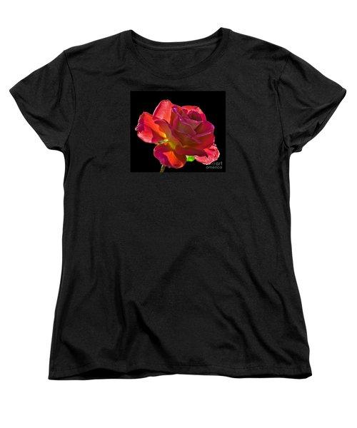 The Red One Women's T-Shirt (Standard Cut) by Robert Bales