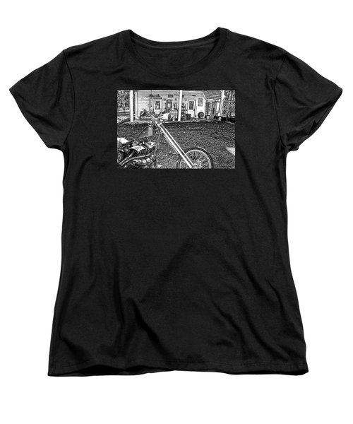 Women's T-Shirt (Standard Cut) featuring the photograph The Rest   by Lesa Fine