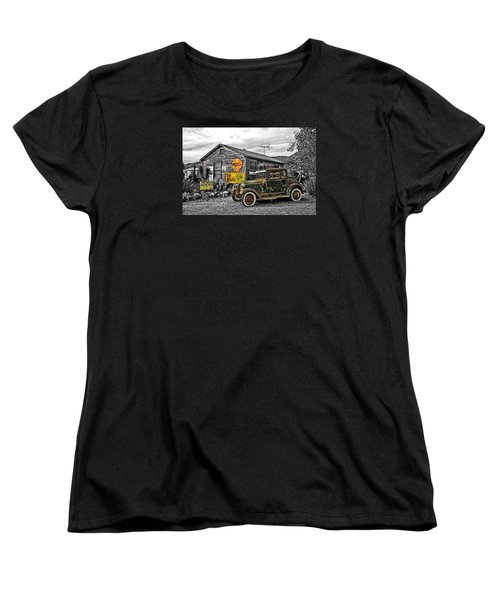 The Resting Place Women's T-Shirt (Standard Cut) by I'ina Van Lawick