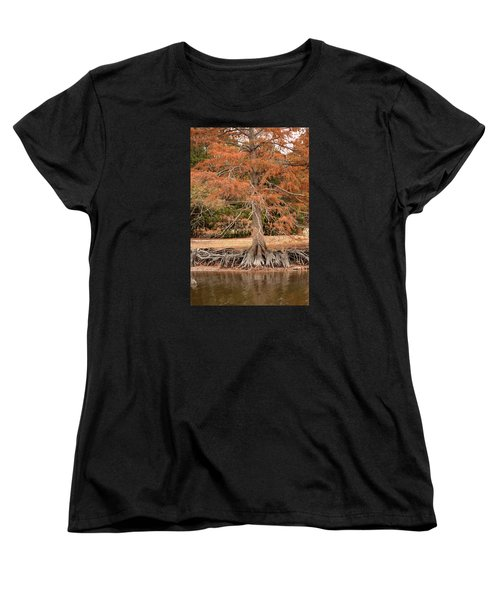 Women's T-Shirt (Standard Cut) featuring the photograph The Root Of It All by Rebecca Davis