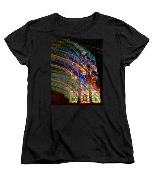 The Spirit Of The Saints Women's T-Shirt (Standard Cut) by Kathleen K Parker