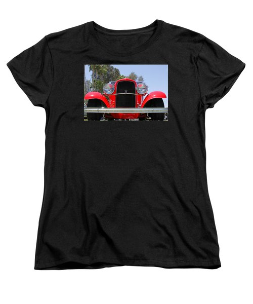 Women's T-Shirt (Standard Cut) featuring the photograph The Stare Of A V8 by Shoal Hollingsworth