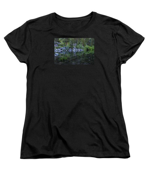 Women's T-Shirt (Standard Cut) featuring the photograph The Stillness Of Dawn  by Sean Sarsfield