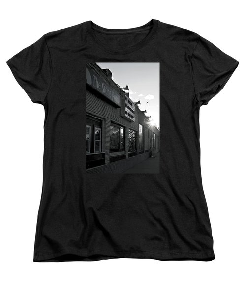 The Stone Pony Asbury Park Side View Women's T-Shirt (Standard Cut) by Terry DeLuco