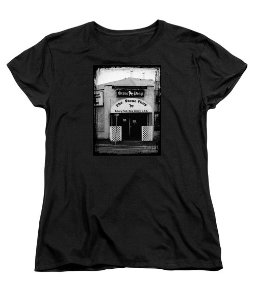 The Stone Pony Women's T-Shirt (Standard Cut) by Colleen Kammerer