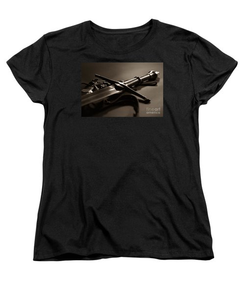 The Sword Of Aragorn 2 Women's T-Shirt (Standard Cut) by Micah May