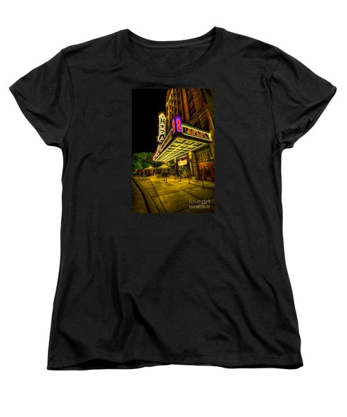 The Tampa Theater Women's T-Shirt (Standard Cut) by Marvin Spates