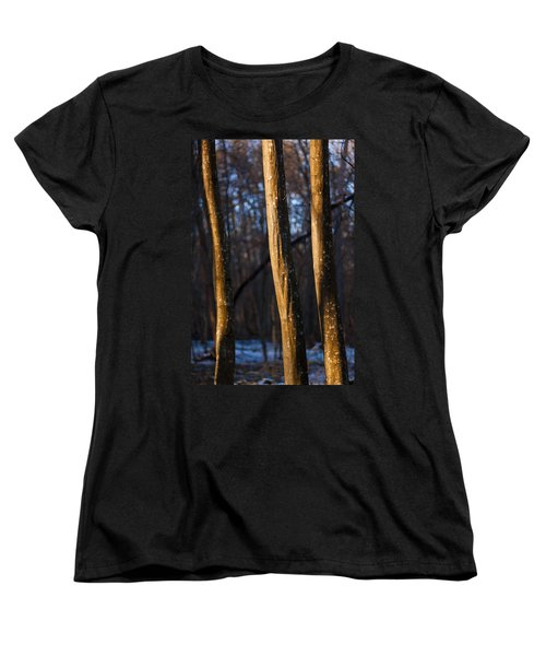 Women's T-Shirt (Standard Cut) featuring the photograph The Three Graces by Davorin Mance