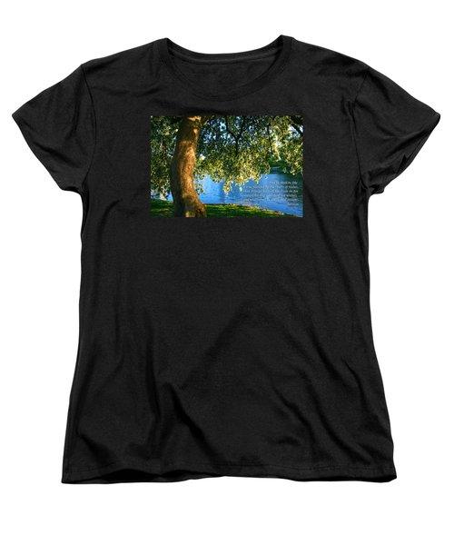 The Tree God Spoke Of... Women's T-Shirt (Standard Cut)