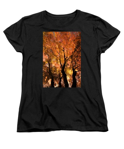 The Trees Dance As The Sun Smiles Women's T-Shirt (Standard Cut)