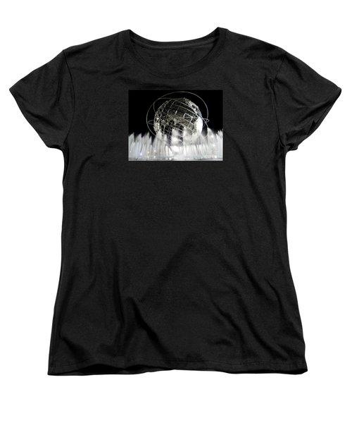 The Unisphere's 50th Anniversary Women's T-Shirt (Standard Cut) by Ed Weidman